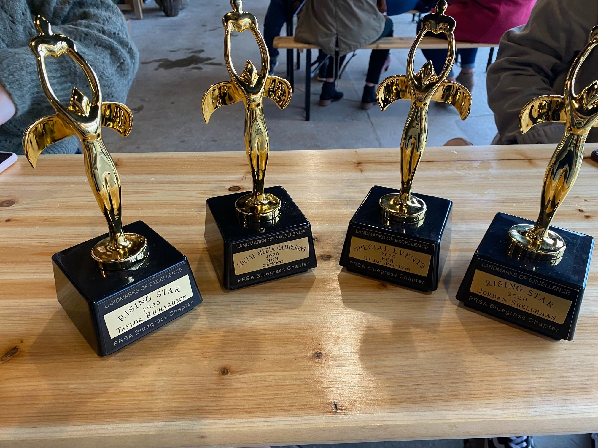 Bluegrass PRSA honors BCH with 17 Landmarks of Excellence Awards - Bandy Carroll Hellige